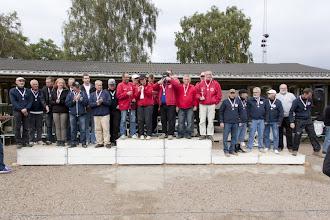 Photo: Vinder af 1. Division Nordfalster Petanque klub-Sølv til Hedebo og bronze til Hvidovre