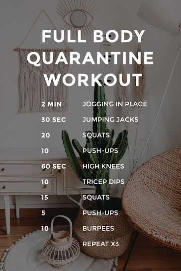 Quarantine  - Pinterest Pin Template