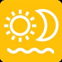 Calendar - Sun & Moon icon