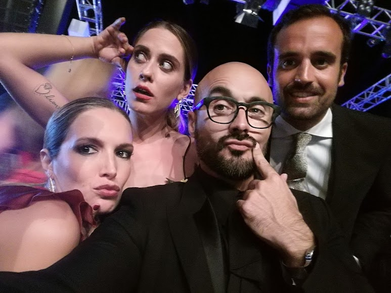 Noelia Margoton, María León, Sergio Morante y Antonio Amuedo.