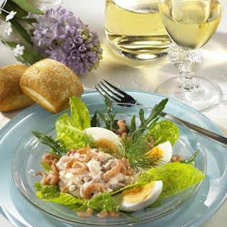 Shrimp and Egg Salad.