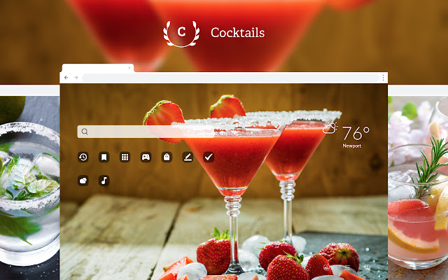 Cocktails Hd Wallpapers New Tab Theme