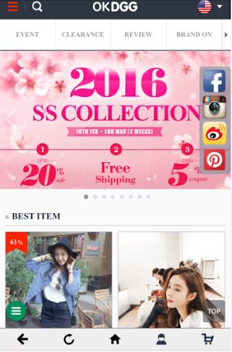 韓国最高のブランドが集まっているOKDGG