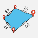 Easy Area : Land Area Measurement App for Maps icon