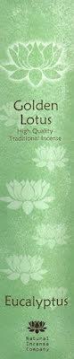 Rökelse Golden Lotus - Eucalyptus