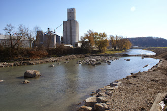 Photo: Downstream view 11/4/13