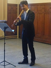 Photo: Jean-François Suizan Lagrost premiering John Palmer's piece