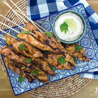 Mexican Chicken Satay Recipe - Tailgating Party Food.