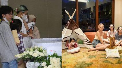 Ditinggal Suami Untuk Selamanya, Potret Tegar Joanna Alexandra Bersama Keempat Buah Hatinya - KapanLagi.com