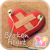 Heart wallpaper-Broken Heart-