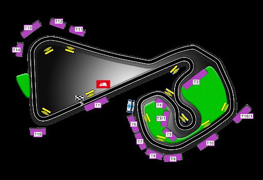 Circuit du Sachenring moto gp