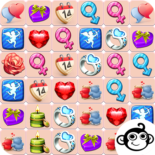 人子连接情人节 Onet Connect Valentine 休閒 App LOGO-APP試玩