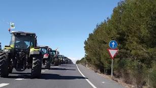 Imagen de archivo de una tractorada.