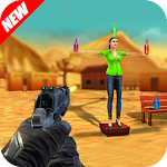 Expert Bottle Shooting 3D Game Icon