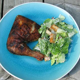 Spice Rub Grilled Chicken Legs