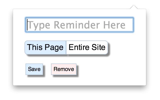 Site Reminder