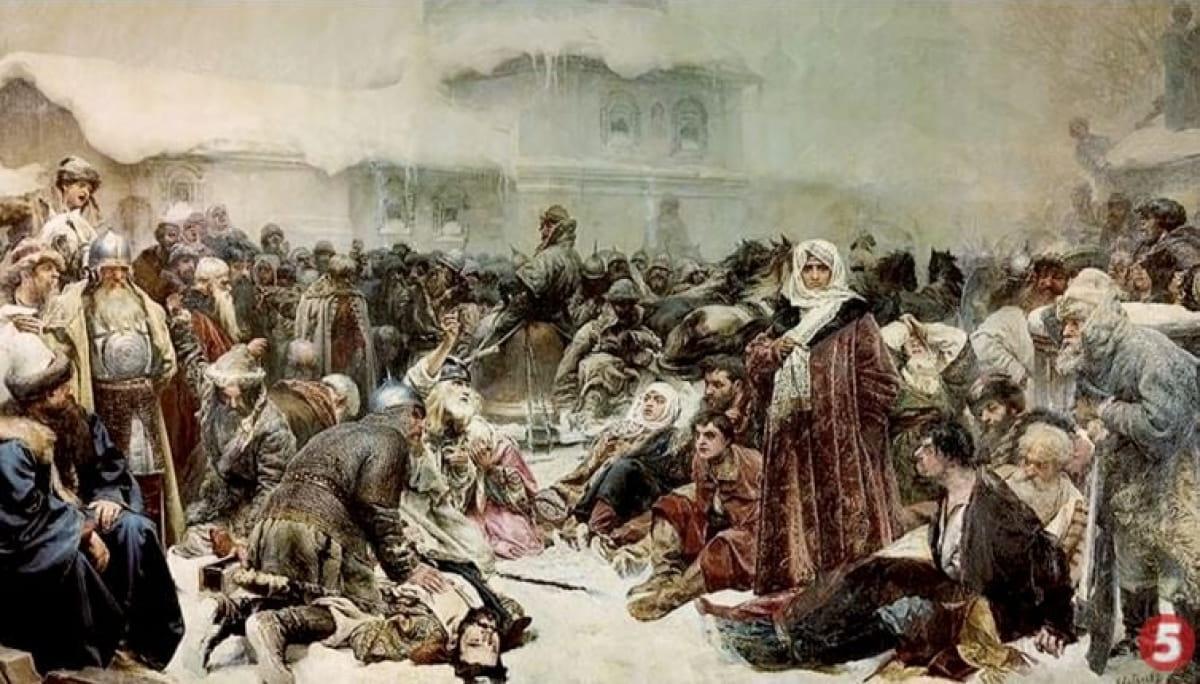 Массовые убийства в Новогороде в 1570 году