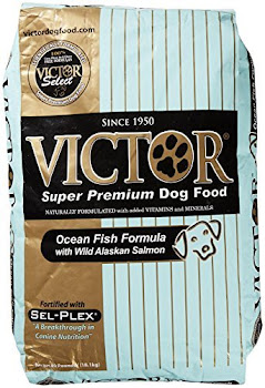 Victor Dog Food - Ocean Fish Formula with Alaskan Salmon, Dry, 40lbs
