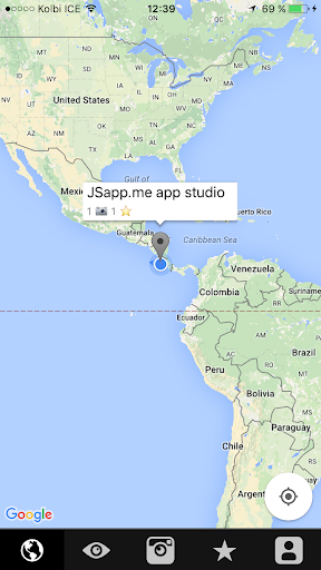 JSapp Geo Social Map