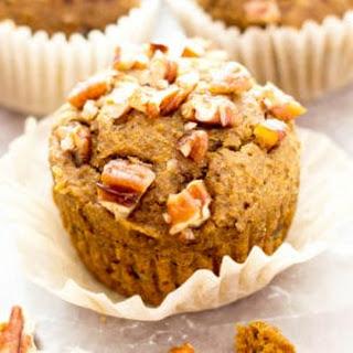 Gluten Free Maple Pecan Pumpkin Muffins (GF, Vegan, Dairy-Free, Refined Sugar-Free).