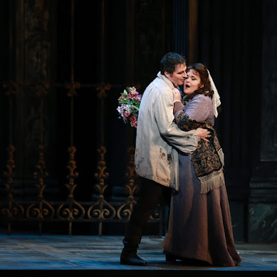 Steps forward for opera's women: Tosca at PBO