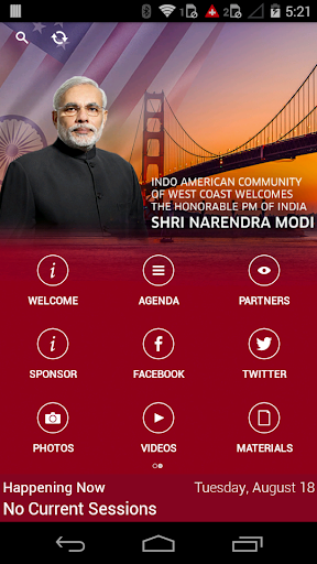 PM Modi In CA