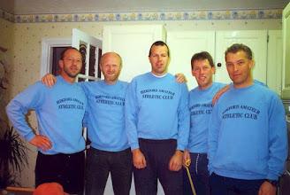 Photo: Retired Tablers run the London Marathon - 1999