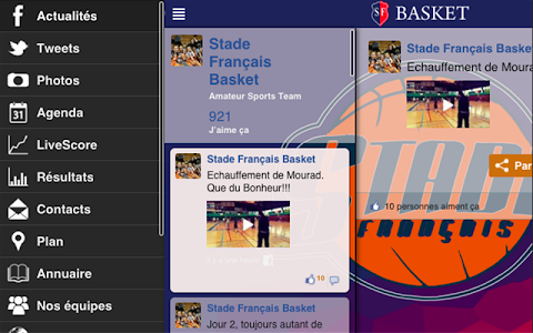 Stade Français Basket screenshot 3