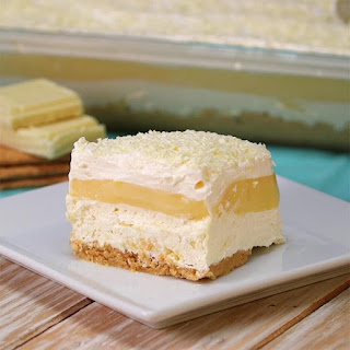 White Chocolate Lasagna Will Satisfy Many Cravings