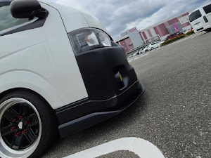 ハイエース TRH200V SUPER GL 2018年式のカスタム事例画像 keiji@黒バンパー愛好会さんの2020年06月21日07:50の投稿