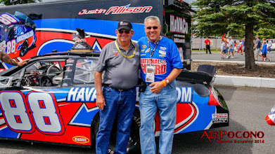 Photo: Donnie is out helping promote his Grandson Justin's racing career and enjoying spending time with all of his fans.