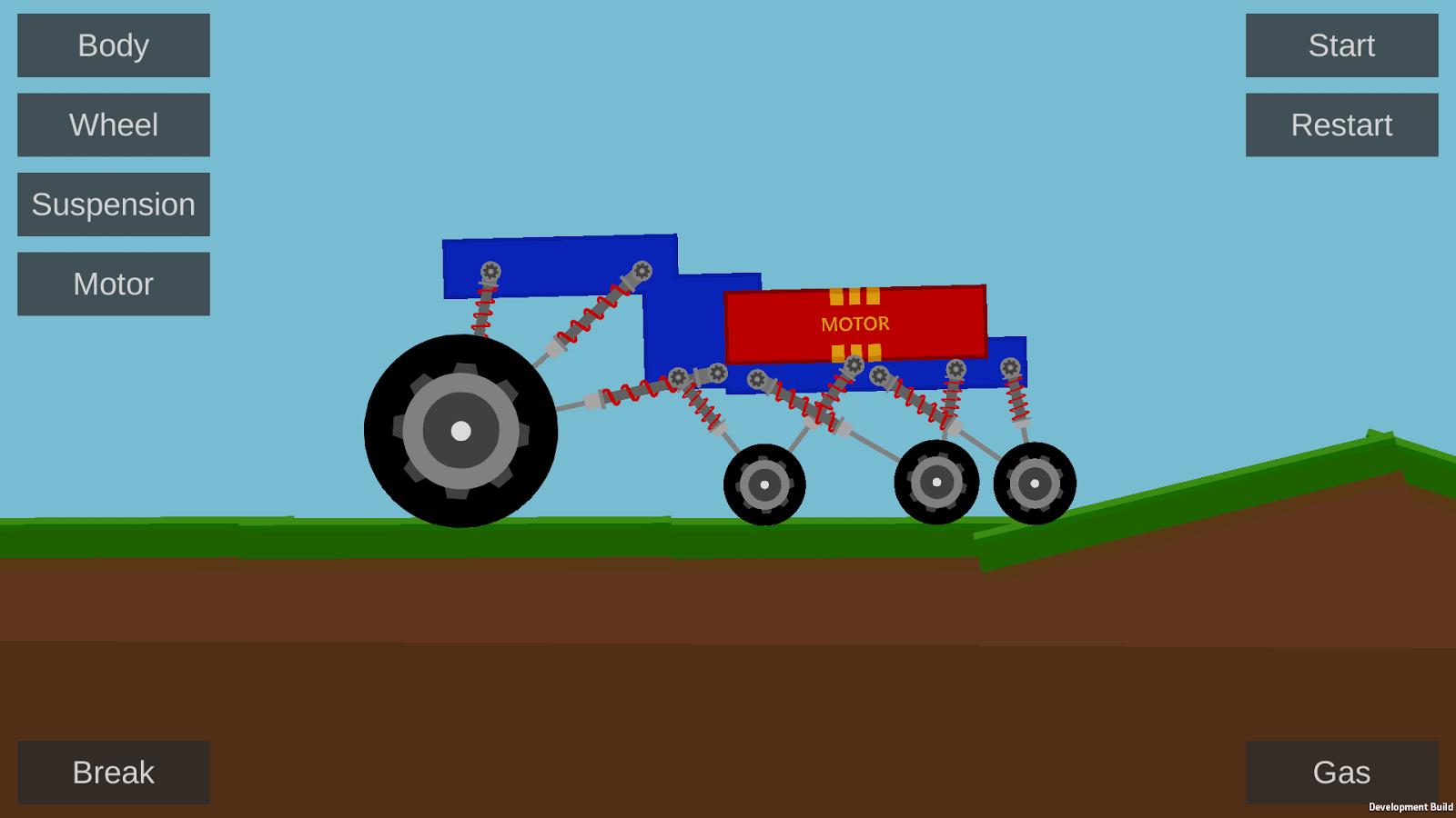 Build a car games for kids - Create Your Car Screenshot