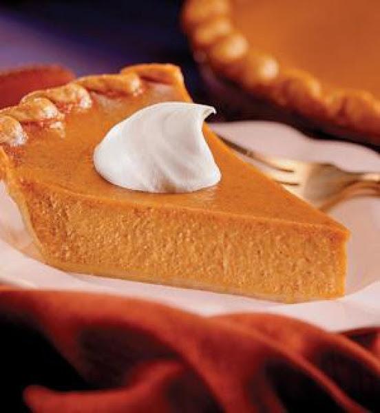 Luscious Pumpkin Pie Recipe