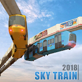 Elevated Train Driving Simulator: Sky Tram Driver