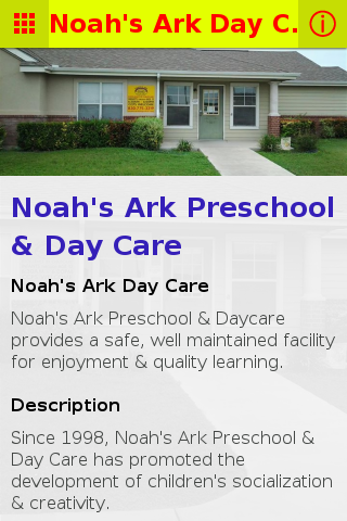 Noah's Ark Day Care