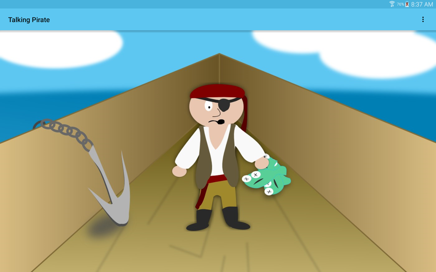 Talking Pirate- screenshot