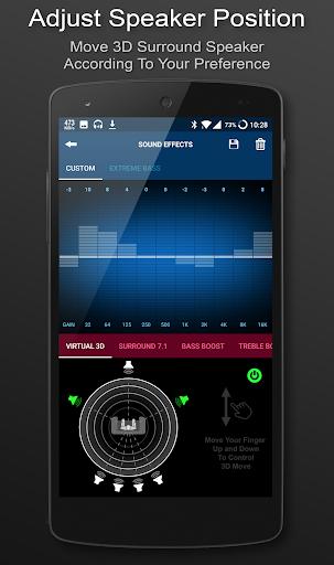 3D Surround Music Player 1.7.01 screenshots 2
