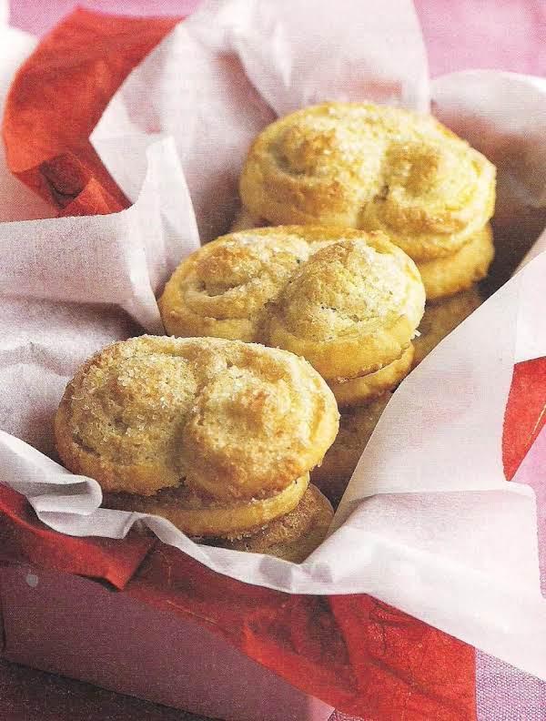 Almond Palmiers Recipe