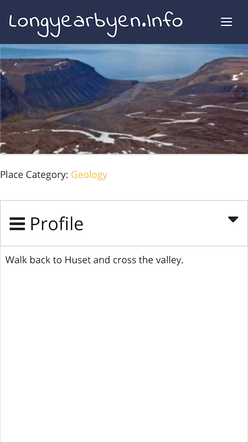 Longyearbyen Info- screenshot