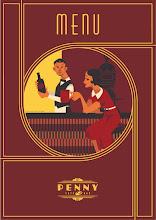 Photo: menu design for PENNY