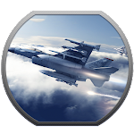Real F18 3D Jet Fighter Attack Icon