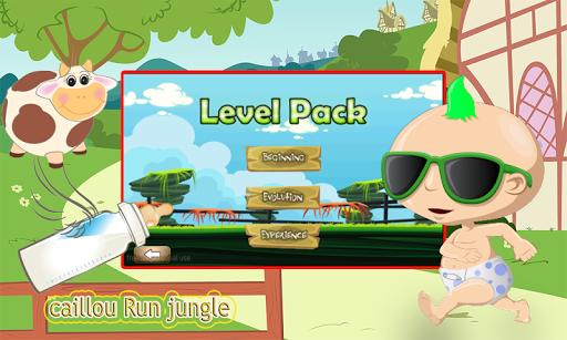 jungle caillou run 2015