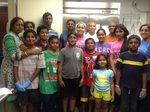 Photo: Sewa Day 2014: Volunteers served food at Safe Harbor Homeless shelter , West Chester, PA (Annadana program)