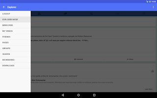 Screenshot of MyVideoDownloader for Facebook