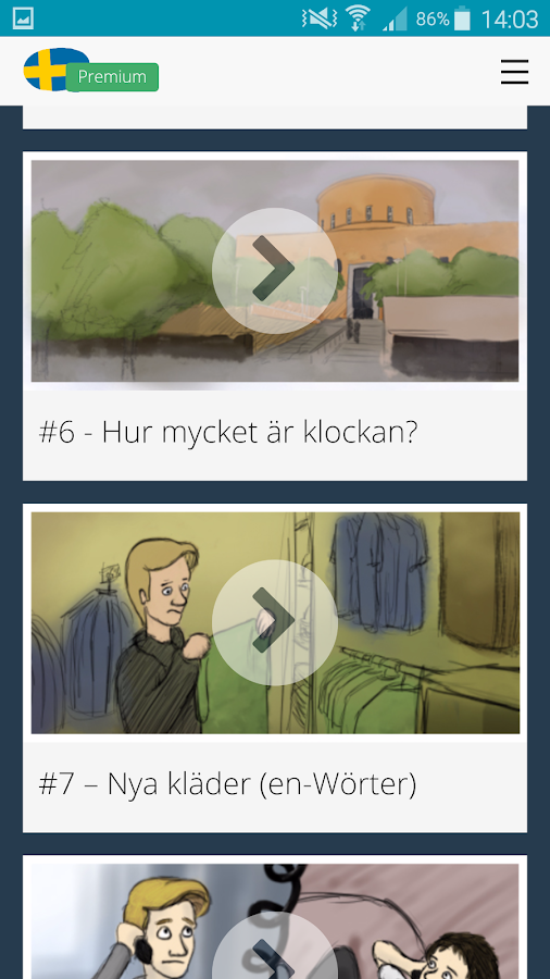Free Swedish Audio Lessons- screenshot