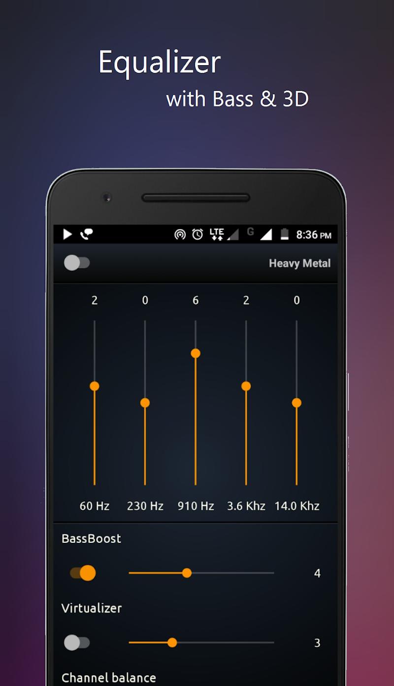PowerAudio Pro Music Player Screenshot 1