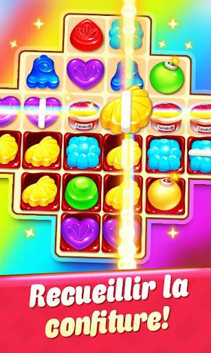 Candy Smash - 2020 Match 3 Puzzle jeu gratuit  captures d'écran 1