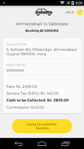 OneWay.Cab Partner screenshot 4