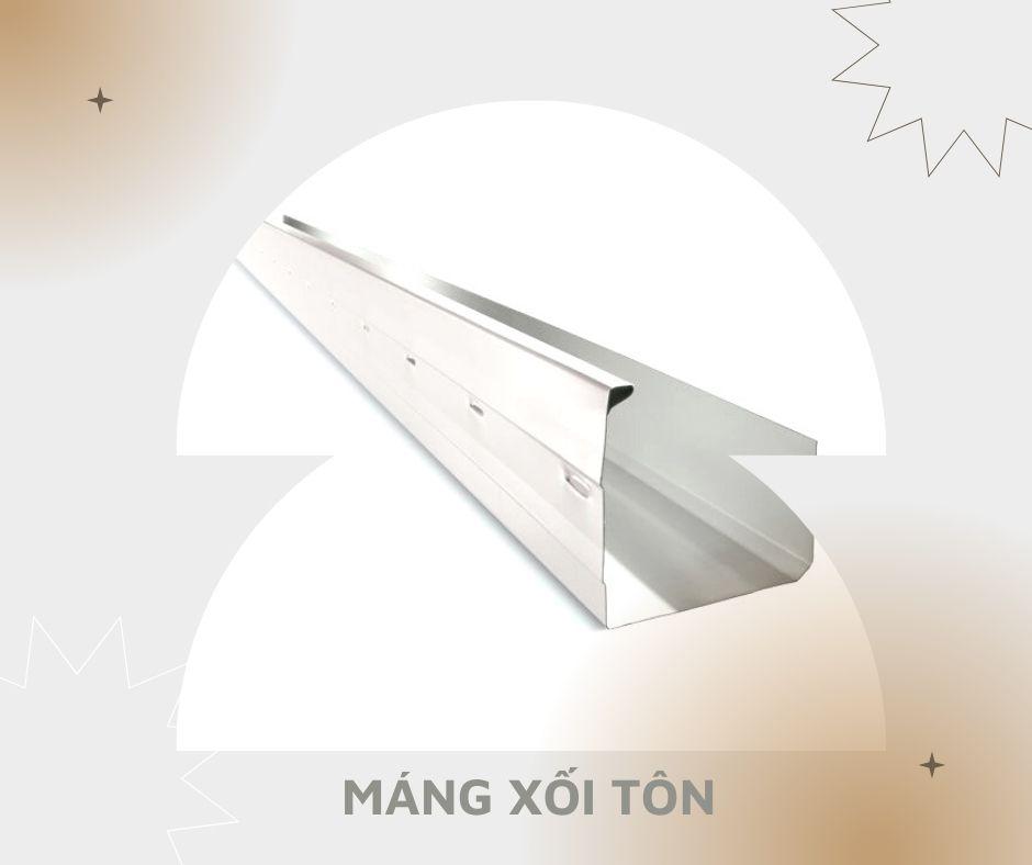 Máng xối- loại vật liệu quen thuộc trên mỗi mái nhà