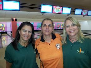 Photo: Titila Alvarez, Roseli Santos e Sarah Guterman